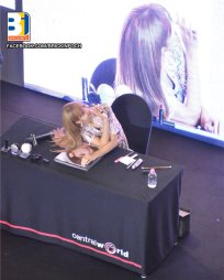 BLACKPINK LISA moonshot central world fansign event bangkok thailand 30