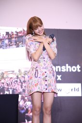 BLACKPINK LISA moonshot central world fansign event bangkok thailand 41