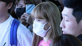 BLACKPINK Lisa Airport Photo 18 August 2018 Incheon 10