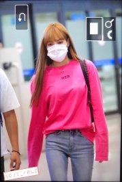 BLACKPINK Lisa Airport Photo 18 August 2018 Incheon 14