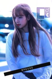 BLACKPINK Lisa Airport Photo 8 August 2018 Incheon to Jakarta Indonesia