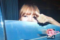 BLACKPINK Lisa Car Photos MBC Music Core 4 August 2018-3