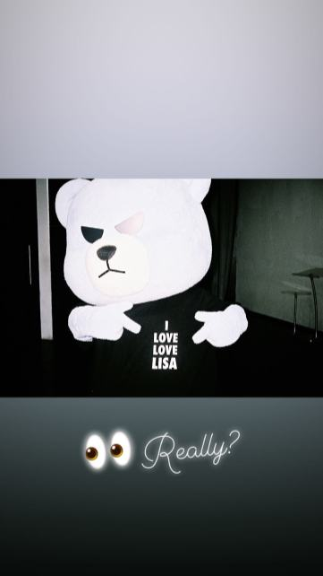BLACKPINK Lisa Instagram Story 23 August 2018 lalalalisa m 2