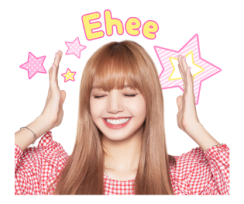 BLACKPINK Lisa LINE Sticker 2018 Photo 2
