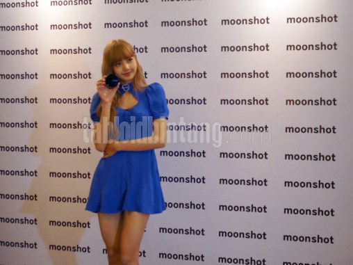 BLACKPINK Lisa meet and greet jakarta indonesia moonshot 5
