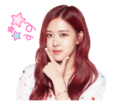 BLACKPINK Rose LINE Sticker 2018 Photo 3