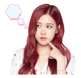 BLACKPINK Rose LINE Sticker 2018 Photo 9