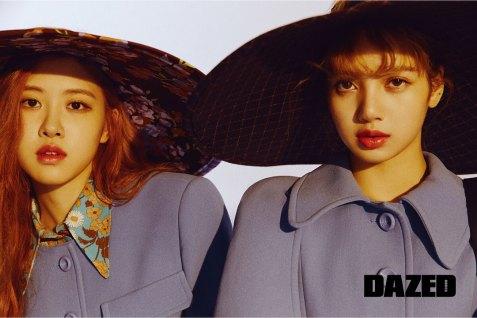 BLACKPINK-Rose-Lisa-Chaelisa-Dazed-Korea-Magazine-Autumn-2018-issue-2