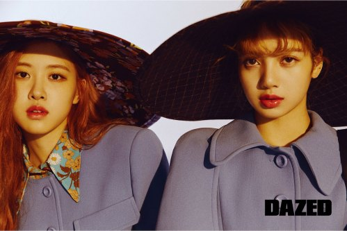 BLACKPINK-Rose-Lisa-Chaelisa-Dazed-Korea-Magazine-Autumn-2018-issue-2