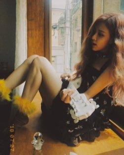 BLACKPINK Rose behind the scenes Dazed Korea Magazine 19
