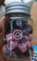 BLACKPINK Rose comeback support rose fan union lunchbox flower candies 13