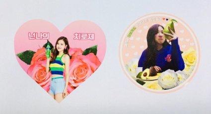 BLACKPINK Rose comeback support rose fan union lunchbox flower candies 20