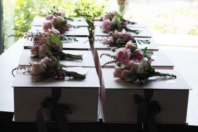 BLACKPINK Rose comeback support rose fan union lunchbox flower candies 9