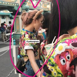BLACKPINK Rose spotted at Tokyo DisneySea 2