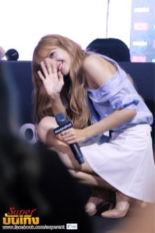 Day 1 BLACKPINK Lisa moonshot fansign event Bangkok Thailand 116