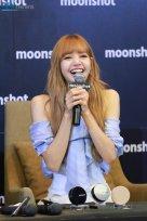 Day 1 BLACKPINK Lisa moonshot fansign event Bangkok Thailand 23