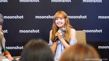 Day 1 BLACKPINK Lisa moonshot fansign event Bangkok Thailand 28