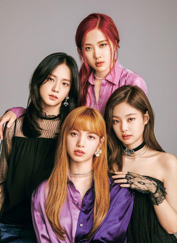 English Translation BLACKPINK WWD Beauty Japan Magazine Photoshoot