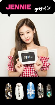 blackpink-jennie-japan-arena-tour-2018-official-nail arts
