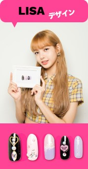 blackpink-lisa-japan-arena-tour-2018-official-nail arts