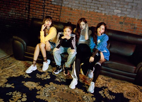 See Photos And Videos Of Blackpink For Adidas Originals Falcon