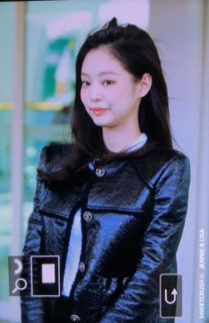 106-BLACKPINK Jennie Airport Photos Incheon to Paris Fashion Week