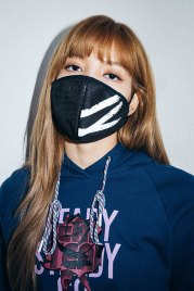 11-BLACKPINK Lisa X-girl Japan 2nd Nonagon Collaboration