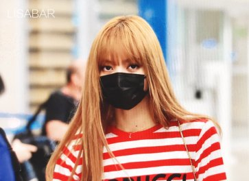 12-BLACKPINK Lisa Airport Photo Incheon Seoul From New York