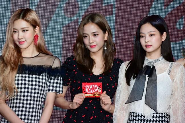 BLACKPINK Jisoo Jennie Rose KitKat 45th Anniversary