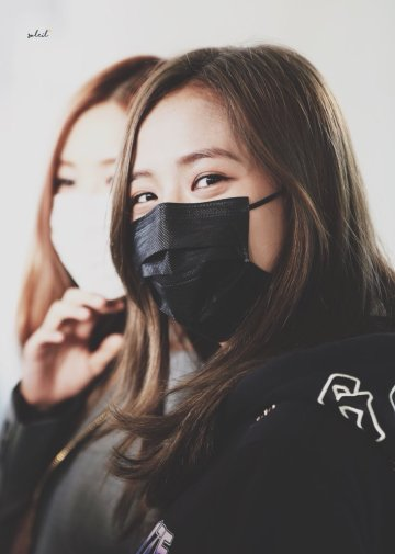 15-BLACKPINK Jisoo Airport Photo Incheon Seoul From New York