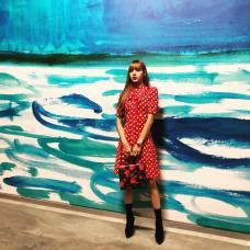 16-BLACKPINK Lisa Michael Kors New York Fashion Week 2018