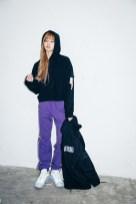 18-BLACKPINK Lisa X-girl Japan Nonagon Collaboration