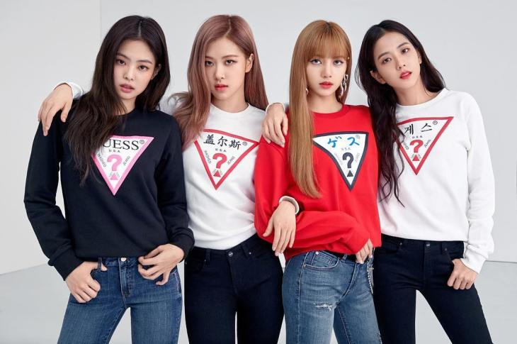 Wherever Guess Blackpink For Guess And Lotte Department Store