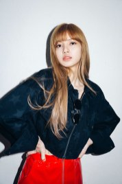 2-BLACKPINK Lisa X-girl Japan 2nd Nonagon Collaboration