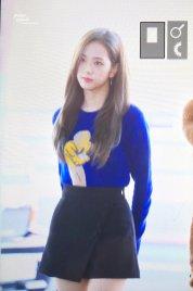 20-BLACKPINK Jisoo Airport Photo Incheon New York Fashion Week