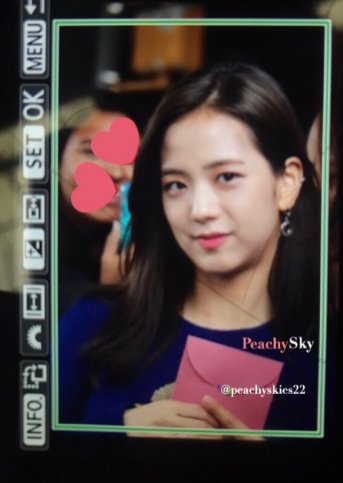 21-BLACKPINK Jisoo JFK Airport Photo New York City