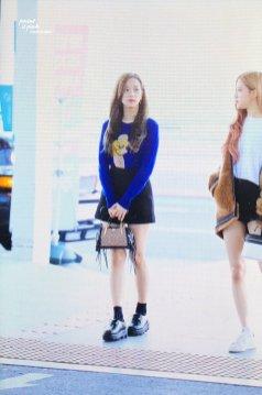 23-BLACKPINK Jisoo Airport Photo Incheon New York Fashion Week