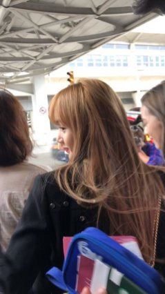 24-BLACKPINK Lisa JFK Airport Photo New York City