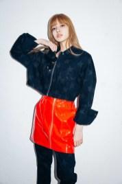 29-BLACKPINK Lisa X-girl Japan Nonagon Collaboration