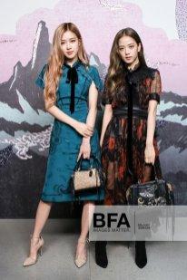 48b1b6c3d6cba BLACKPINK Jisoo and Rosé Attend COACH Show at New York Fashion Week