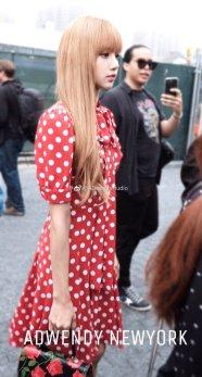 37-BLACKPINK Lisa Michael Kors New York Fashion Week 2018