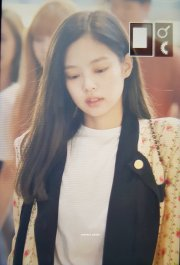 5-BLACKPINK Jennie Airport Photo 17 September 2018 Gimpo to Japan