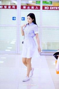 5. BLACKPINK Jennie Airport Photo 31 August 2018 Gimpo