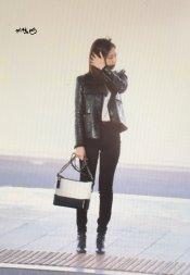 53-BLACKPINK Jennie Airport Photos Incheon to Paris Fashion Week
