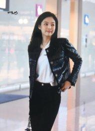 59-BLACKPINK Jennie Airport Photos Incheon to Paris Fashion Week