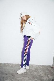 59-BLACKPINK Lisa X-girl Japan Nonagon Collaboration