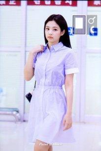 6. BLACKPINK Jennie Airport Photo 31 August 2018 Gimpo