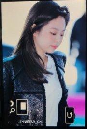 62-BLACKPINK Jennie Airport Photos Incheon to Paris Fashion Week