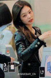 66-BLACKPINK Jennie Airport Photos Incheon to Paris Fashion Week