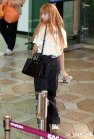 7-BLACKPINK Lisa Airport Photo 17 September 2018 Gimpo to Japan